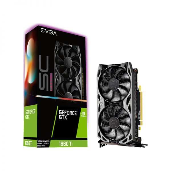 EVGA GeForce GTX 1660 Ti 6GB SC Ultra Gaming