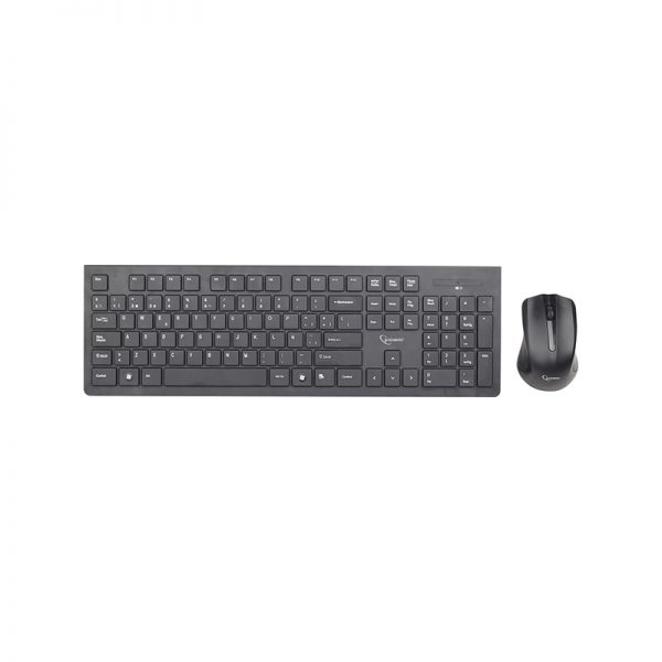 Gembird Wireless Keyboard & Mouse Black