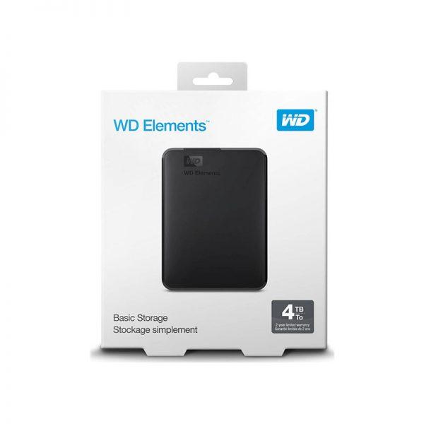 Western Digital Elements Portable 4TB