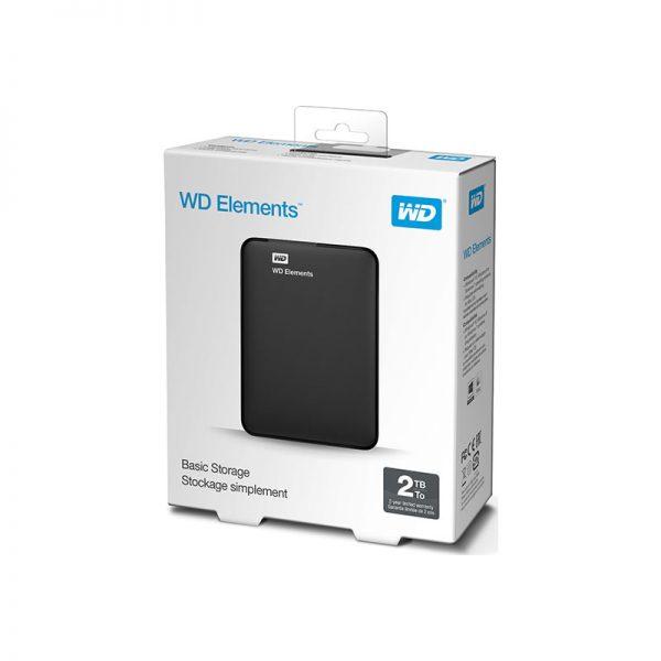 Western Digital Elements Portable 2TB