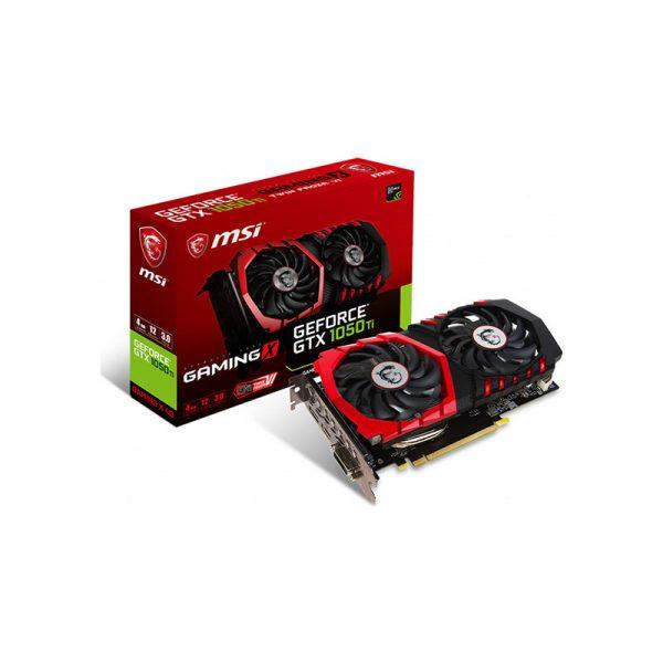 MSI GeForce GTX 1050 Ti 4GB Gaming X