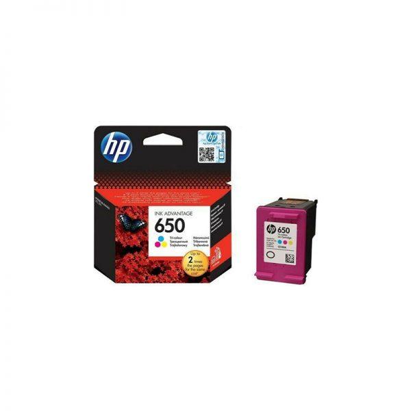 HP 650 Tri-colour