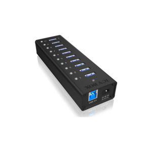 RaidSonic Icy Box 10-Port USB 3.0 Hub