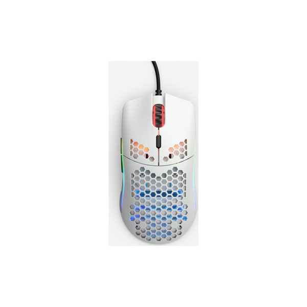 Glorious PC Gaming Race Model O RGB Matte White
